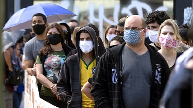 Brésil/ COVID-19   Record de 1.262 décès en 24 heures, le bilan passe à 31.199 morts et 555.383 cas