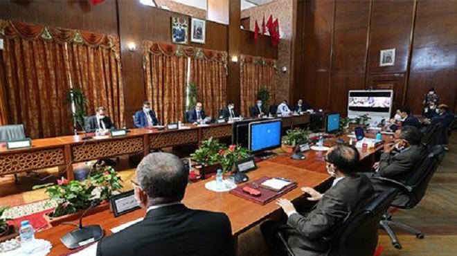 COVID-19 | 1ère réunion du CVE de la région de Casablanca-Settat