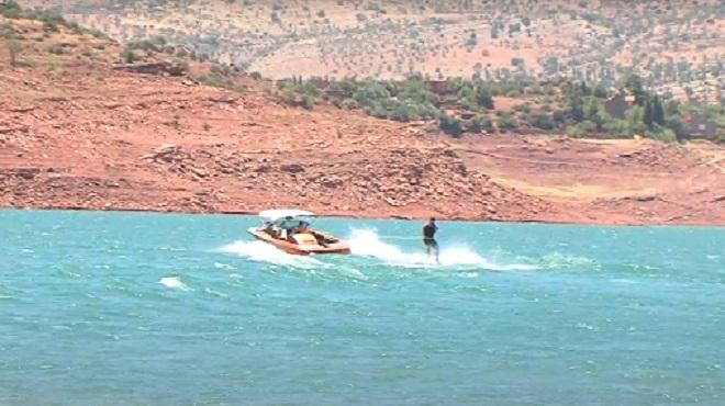 Lac Bin El Ouidane | Reprise des activités nautiques