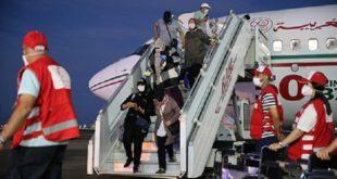 Dakhla | Arrivée de 151 Marocains rapatriés de Mauritanie