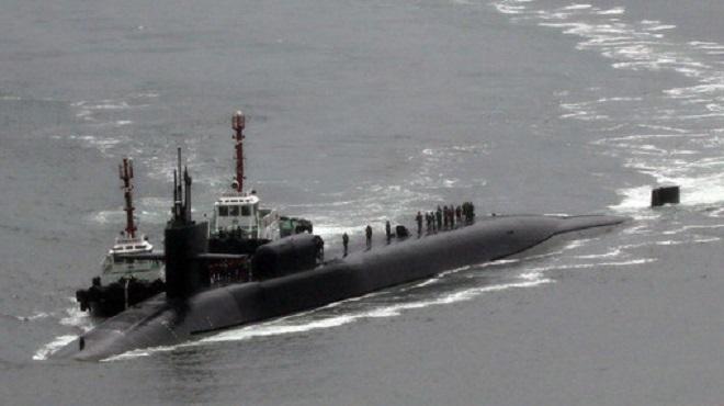 Toulon | Incendie à bord d'un sous-marin nucléaire français en maintenance
