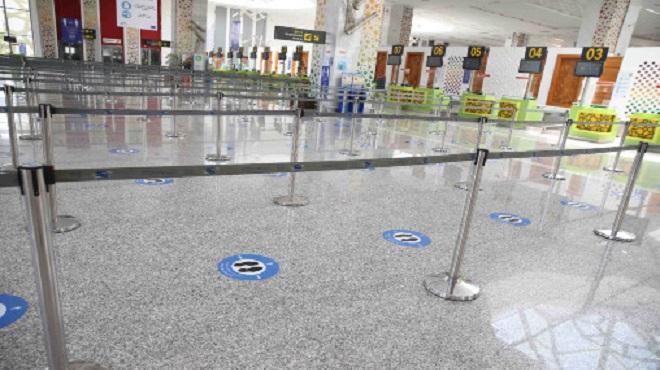 L'aéroport Fès-Saiss se prépare à la reprise