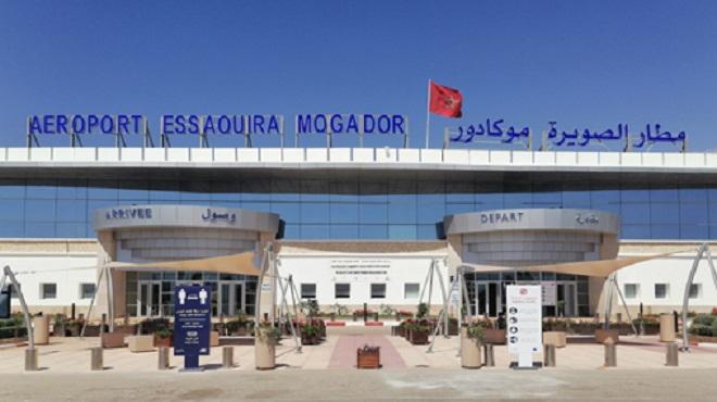 L'Aéroport international d'Essaouira fin prêt pour la reprise