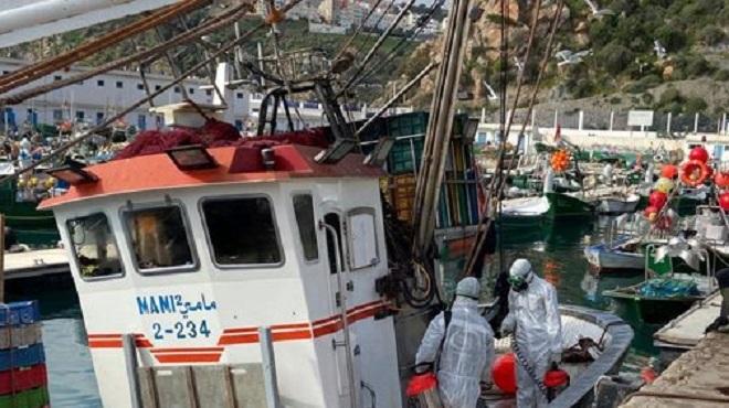 Pêche maritime | Al Hoceima poursuit son activité dans le respect des mesures préventives
