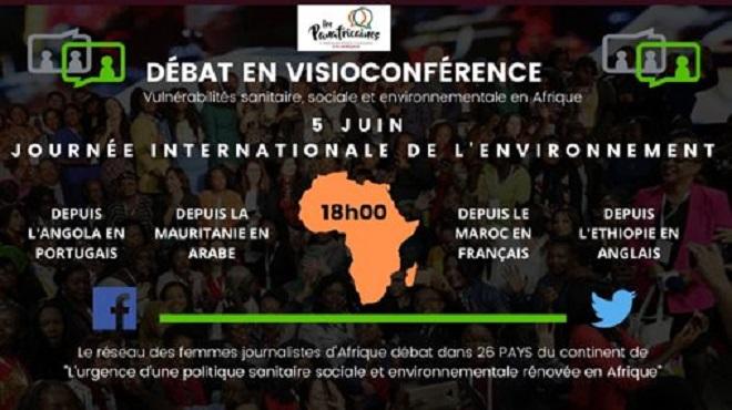 """""""Les Panafricaines"""" organisent des débats sur les conséquences du changement climatique sur la santé humaine"""