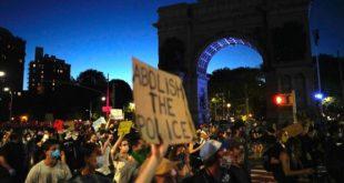 Manifestations/ États-Unis | Levée du couvre-feu à New York