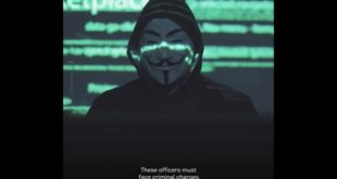"George Floyd | Les ""Anonymous"" sort du silence"