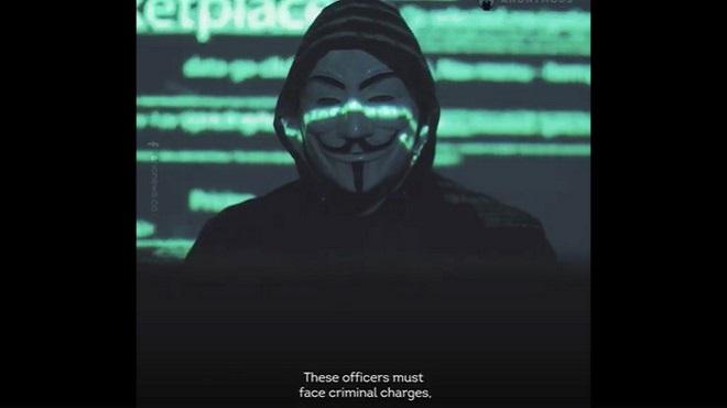 "George Floyd | Les ""Anonymous"" sort du silence"