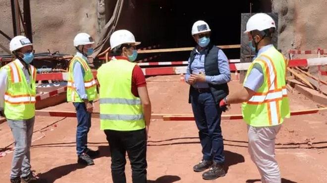 ONEE | Le DG en visite à la STEP Abdelmoumen