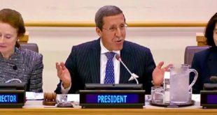 ONU | L'ambassadeur Hilale préside une réunion de haut niveau sur le Sahel Central