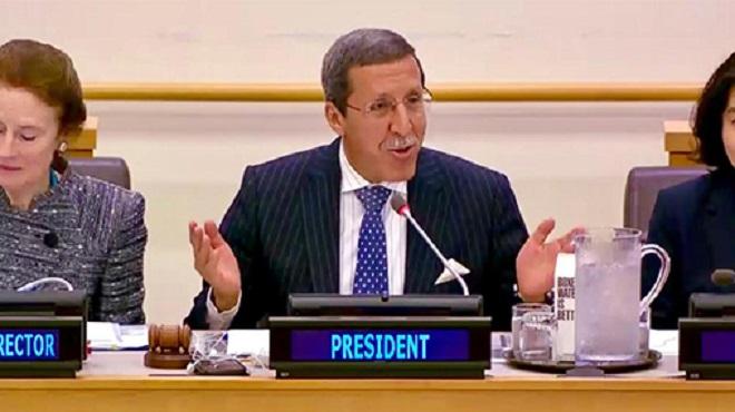 ONU   L'ambassadeur Hilale préside une réunion de haut niveau sur le Sahel Central