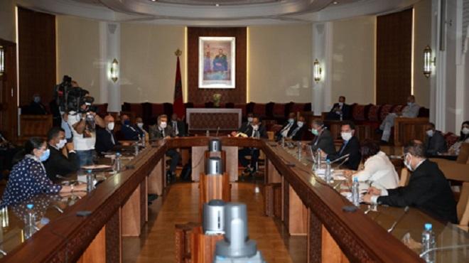 Principaux points de l'exposé du ministre de l'Intérieur sur le projet de loi n° 04.20 relative à la CINE