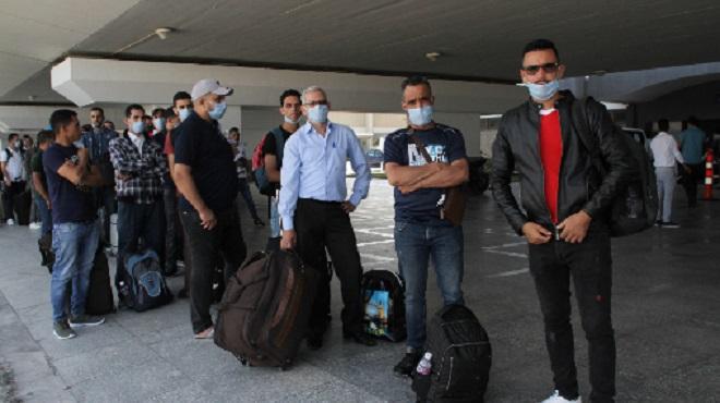Maroc   Rapatriement de 151 Marocains bloqués en Tunisie