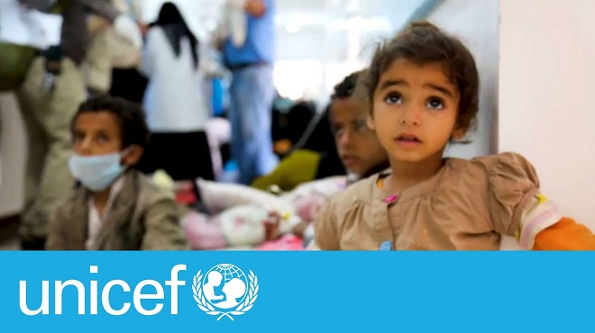 Des millions d'enfants sont au bord de la famine selon l'Unicef