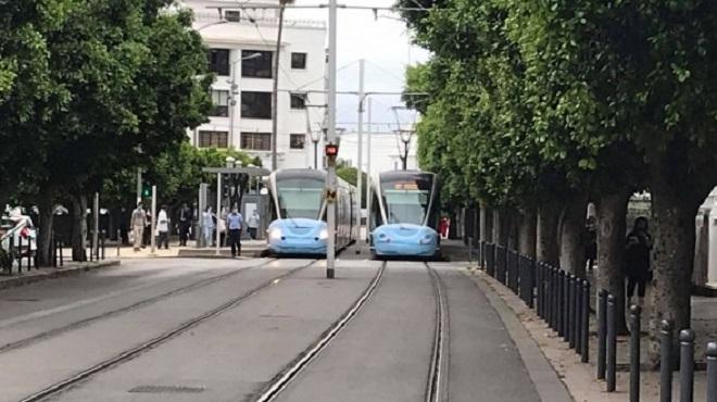 "Les ""Tramways"" de Rabat-Salé portent des ""masques"""