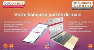 Banque à distance | BTI Bank lance BTI Connect et BTI Business Connect