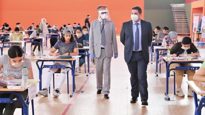 Baccalauréat | Amzazi visite des centres d'examen à El Hajeb et Fès