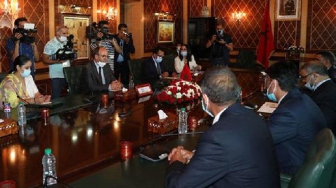 Benchamach   L'accord de Skhirat offre une base pour la réconciliation nationale libyenne globale