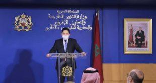 Bourita | Il y a une convergence de points de vue entre le Maroc et l'Arabie Saoudite concernant la résolution de la crise libyenne