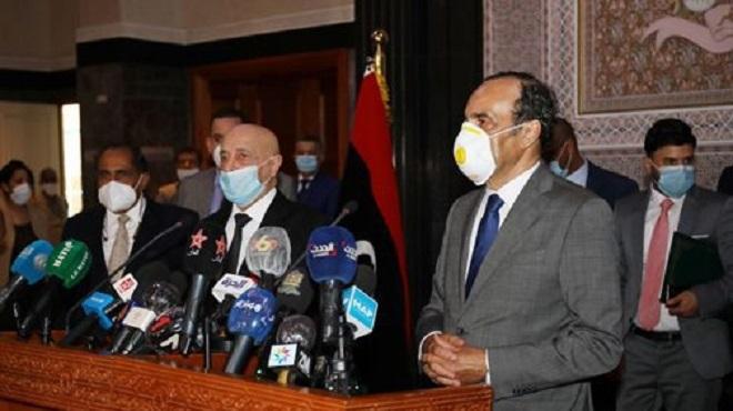 Crise Libyenne   Aguila Saleh assure que son initiative ne contredit pas l'accord de Skhirat