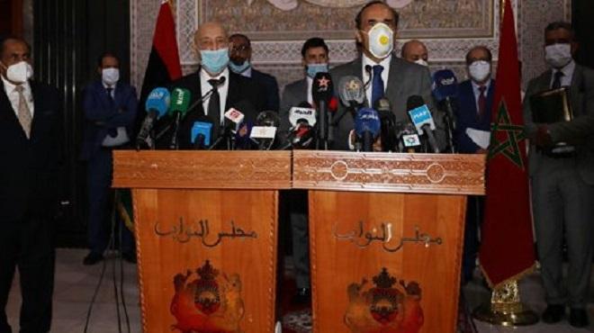 El Malki affirme le soutien du Maroc à toutes les initiatives visant à rétablir la sécurité et la stabilité en Libye