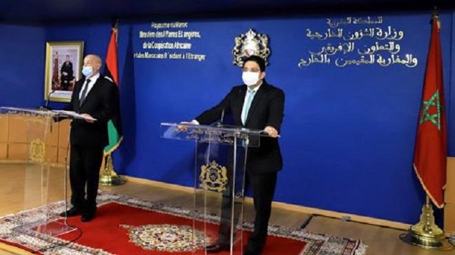"""L'initiative de la Chambre des Représentants libyenne, un """"développement positif"""" pour faire avancer l'accord de Skhirat dans ses aspects institutionnels"""