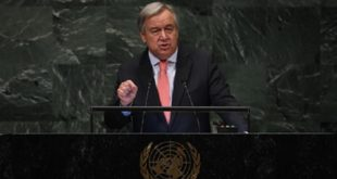 Le chef de l'ONU appelle à construire un monde Post Covid-19 plus résilient et plus durable