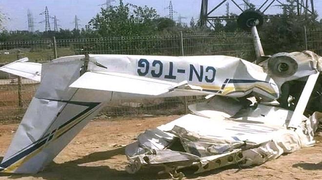 Crash d'un Cessna à Kénitra