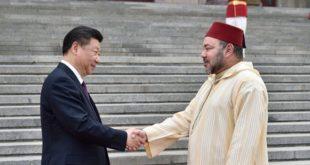 Entretien téléphonique entre SM le Roi et le président chinois Xi Jinping