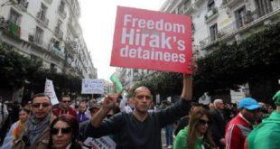 Genève Sit-in d'Algériens pour dénoncer les arrestations arbitraires et la répression dans leur pays