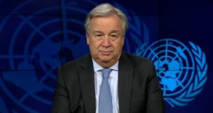 Guterres prône la solidarité internationale face au Covid-19