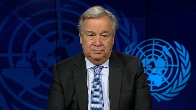 Guterres prône la solidarité internationale face au Covid-19