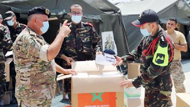 Beyrouth | L'hôpital militaire marocain entre en service