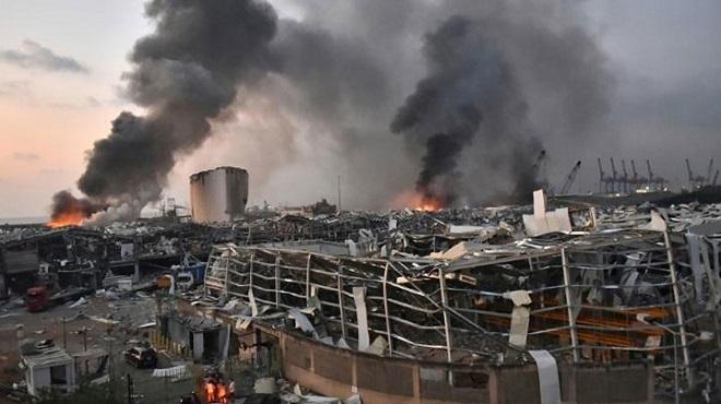 Beyrouth | Plus de 100 morts et 300.000 sans-abri