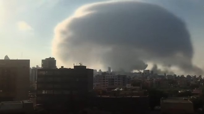 Liban   Deux fortes explosions ont secoué la capitale libanaise Beyrouth