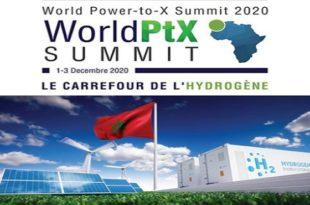 IRESEN | Le World Power-to-X Summit 2020 en décembre à Marrakech