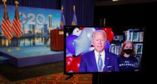 Joe Biden officiellement investi par le parti démocrate