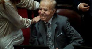 L'ex-président argentin Carlos Menem testé négatif au Covid-19