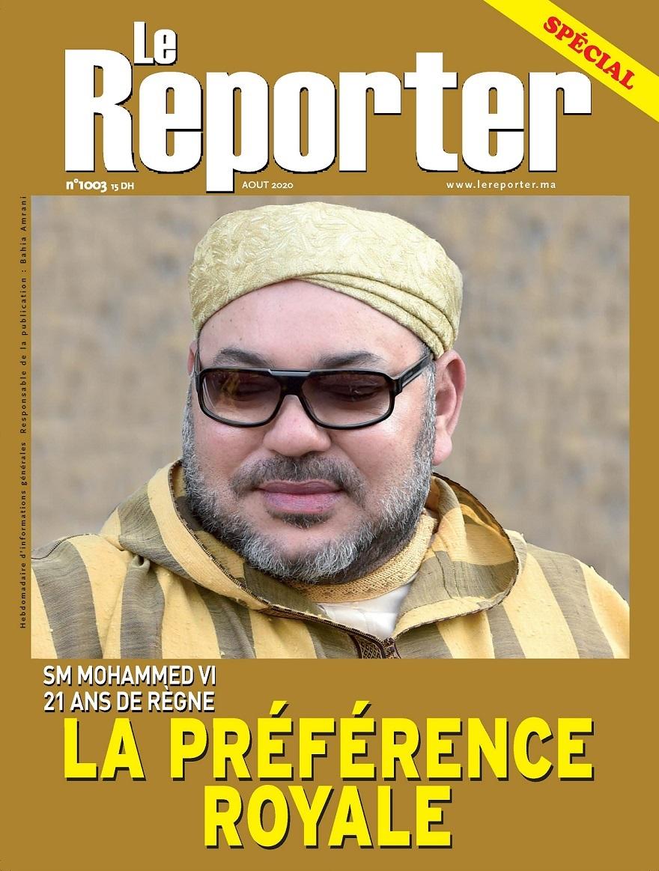 Le Reporter N°1003 Spécial Août 2020