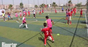 terrains de proximité maroc,sport délinquance juvénile Maroc