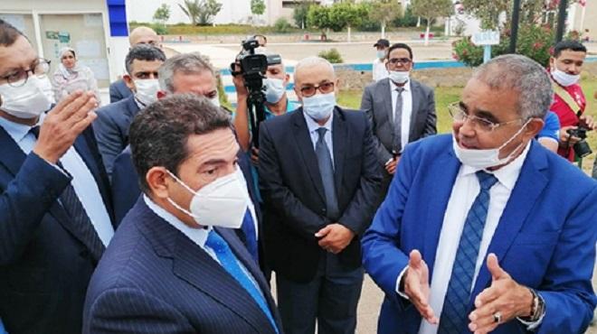 Amzazi Visite Des établissements D'enseignement à Agadir