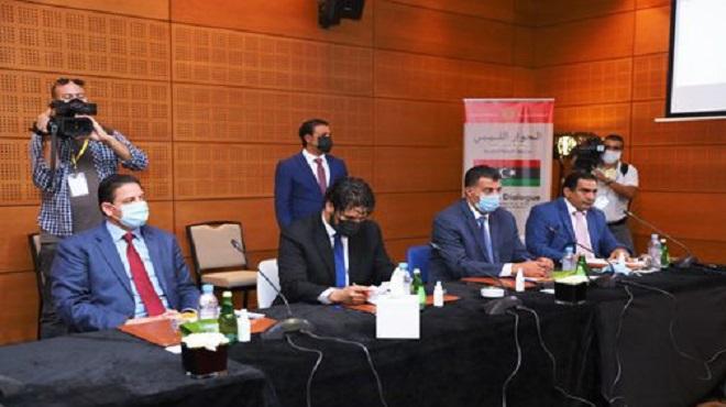 Bouznika Troisième journée des séances du dialogue libyen