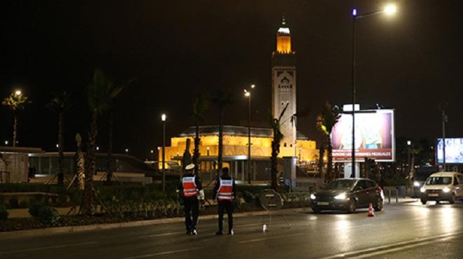 Casablanca Entrée en vigueur des nouvelles mesures restrictives