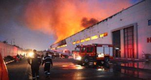 Casablanca Important incendie dans un dépôt