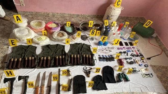 Cellule terroriste démantelée le 10 septembre
