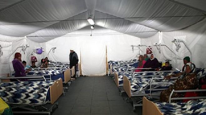 Lancement des travaux d'aménagement d'un hôpital de campagne à Béni Mellal