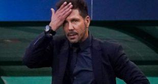Liga L'entraîneur de l'Atletico de Madrid Diego Simeone testé positif à la Covid-19