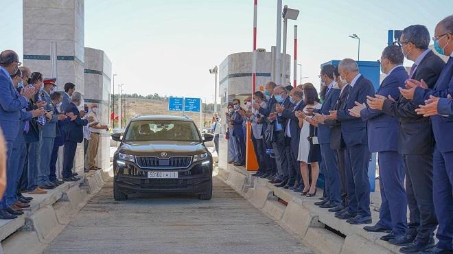 Lixus Autoroutes Du Maroc Inaugure Un échangeur
