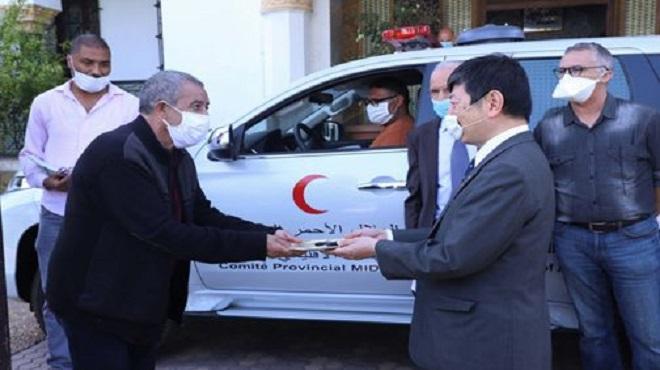 Midelt Don japonais pour la promotion des services de santé