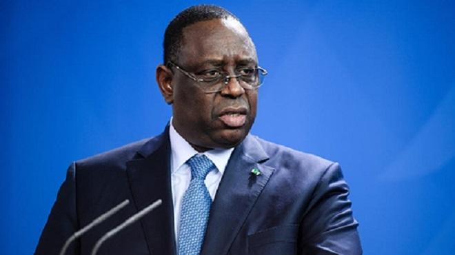 Sénégal Macky Sall évoque des perspectives de croissance à deux chiffres dès 2023